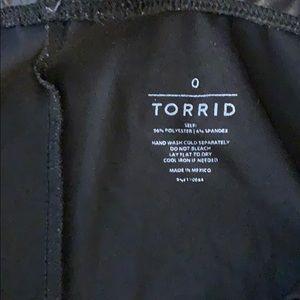 torrid Pants - Torrid Black Coated Leggings